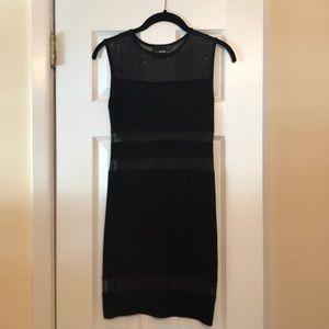 Bodycon Black ASOS Dress w/ See Through Slits